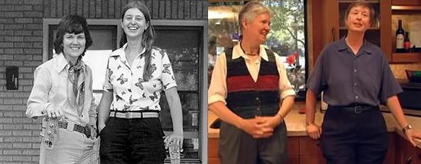 Iris and Ann, 1979 / Iris and Ann, 2009
