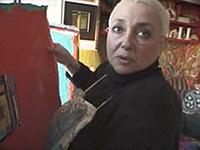 Nan Golub in Triptych: 3 Women Making Art